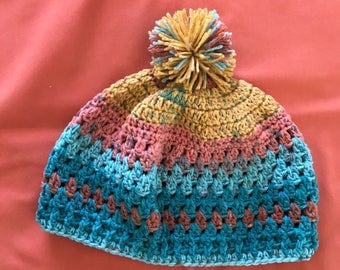 Ladies Toboggan with Pompom