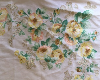Beautiful Set of Floral KING Pillowcases.