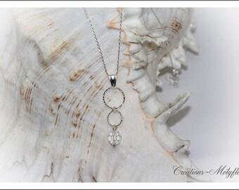Swarovski clear Crystal Necklace