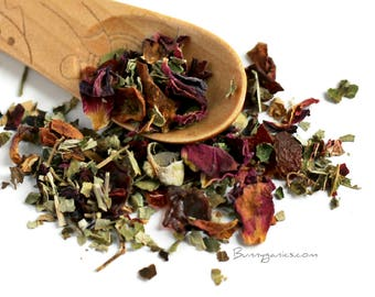Organic Berry Herbal Blend Mix Treat for Bunny Rabbit & Guinea Pig