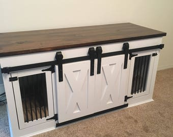 Media console/Dog kennel