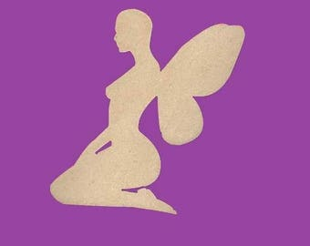 Blank MDF fairy v3 medium support