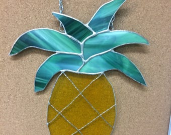 Stained Glass pineapple