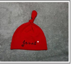 """Personalized """"name"""" baby Hat"""