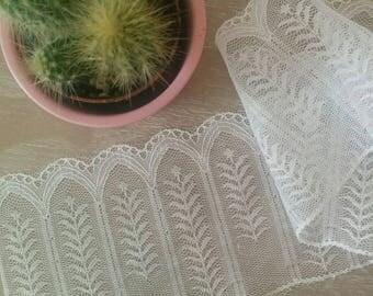 Lace geometric white wedding