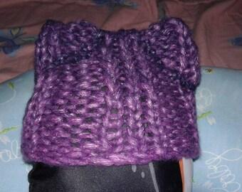 Kitty Cat Newborn Hat