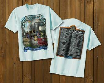 Lockn Terrapin Station T Shirt  White