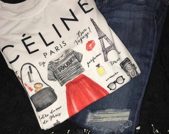 Celine fashion T-Shirt