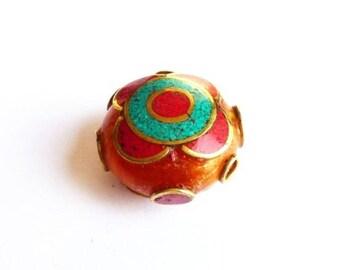 Ppra2 ethnic Tibet Nepal bead