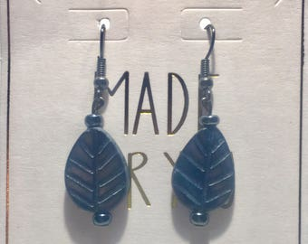 Blue/Gray Earrings