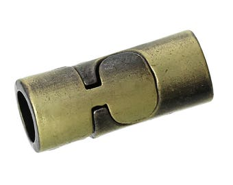 FR78 - A magnetic bronze antique 22mm x 9mm