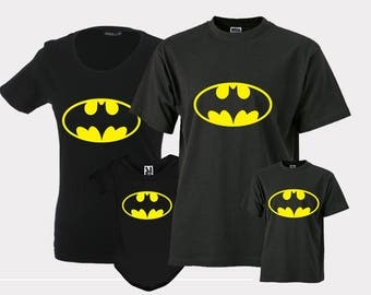 Batman Shirts Batman t shirts Batman tee Shirt Batman outfit Batman Tshirt for kids men and women Top clothing Baby girl Boy Toddler Child
