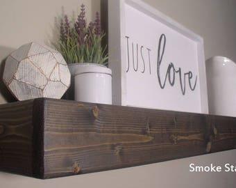 Wood Shelves, Floating Wood Shelves, Rustic Shelves, floating shelf, wood, floating, farmhouse, décor,rustic, beam shelf, chunky shelf