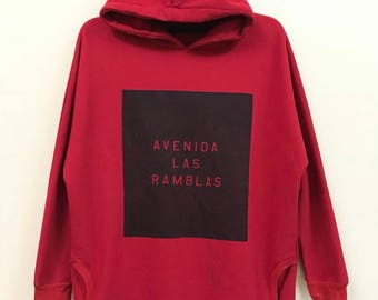 Vintage Anap Hoodies Red Sweatshirt Hip Hop Swag Style