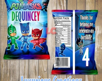 pj masks bags etsy. Black Bedroom Furniture Sets. Home Design Ideas