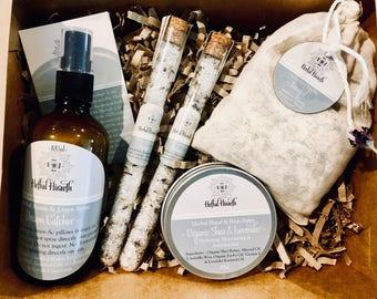 Relaxation Herbal Healing Pamper Kit - Vegan