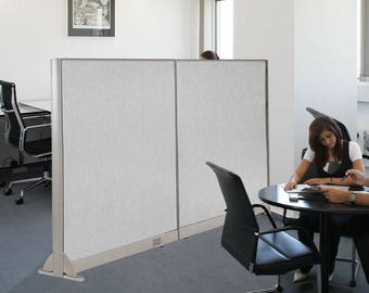 GOF Wall Mounted Office Partition, 72W X 60H / Office Panel, Room Divider (