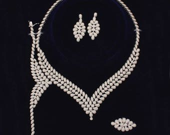 925 silver jewelry sets, wedding sets, party, solid 925 sterling silver sets, prom, gift, jewelry sets,bridal set,crystal