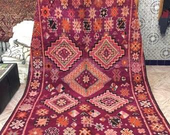 Vintage Boujad carpet, moroccan carpet, 320x210cm,Boujad rug, vintage carpet, berber carpet,