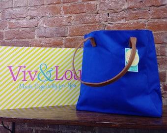 Royal Blue Tote Bag
