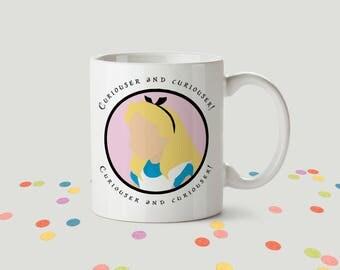 Alice in Wonderland Ceramic Mug