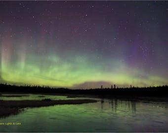 Northern Lake Lights