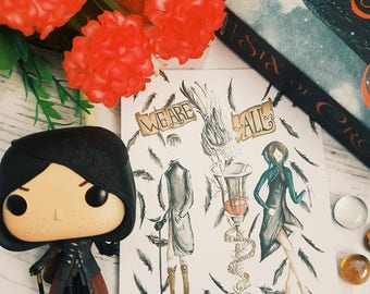 Six Of Crows Postcards