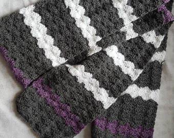 Shell stitch scarf