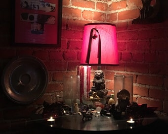Chinese Foo Dog lamp