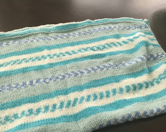 Handknit Baby Blanket