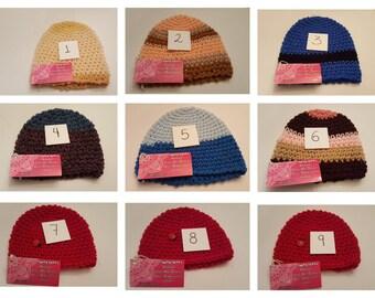 Kids hats 1yr-3yrs
