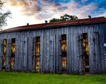 Tobacco Barn Photo