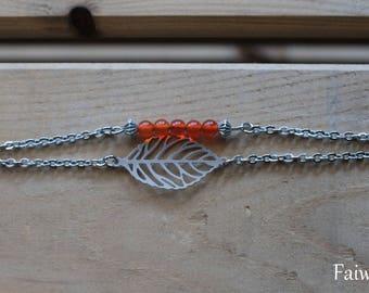"""""""Awena"""" carnelian bracelet"""