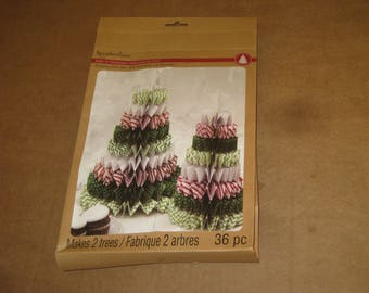 """Recollections Make it Christmas """"Rosette Tree Kit""""   [6474bt]"""
