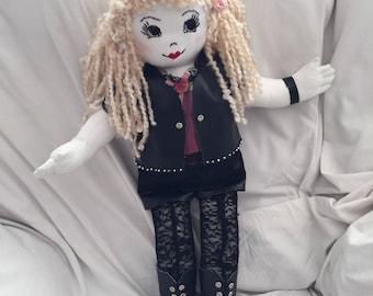 Handmade Dolls - Biker Chick