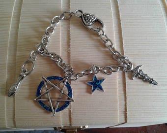Bracelet Pentagram Witch Goddess Ritualdoch