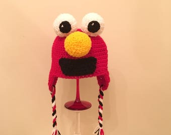Elmo crocheted Hat