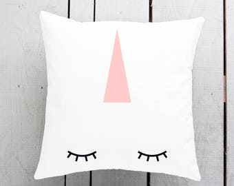 unicorn gift, unicorn cushion, unicorn pillow, unicorn homewares, unicorn present, unicorn lover, sleeping unicorn