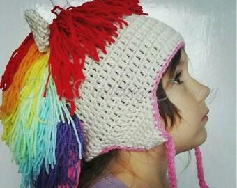 Unicorn Winter Hat