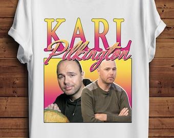 Karl Pilkington T Shirt 90s Vintage Style