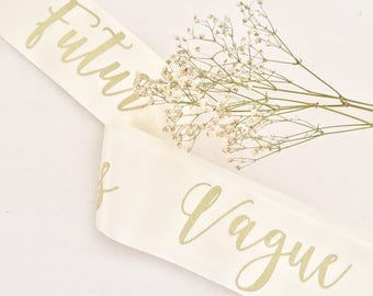 Personalised Bridal Party Sash