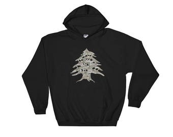 Camouflage Cedar Tree Sweatshirt