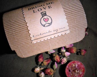 Bring Me Love Candles-six pcs-dressed candles-love