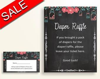 Diaper Raffle Baby Shower Diaper Raffle Chalkboard Baby Shower Diaper Raffle Baby Shower Chalkboard Diaper Raffle Black Pink pdf jpg NIHJ1