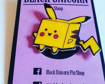 Pikachu box pin