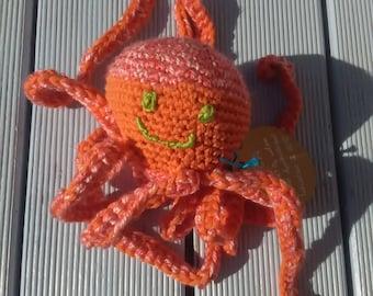 Octopus plush ~ Eva