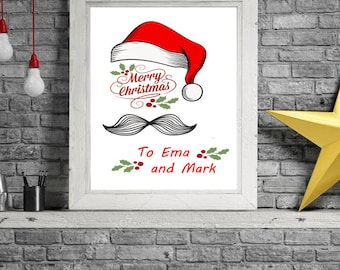 Template Christmas Card, Holiday Card, INSTANT DOWNLOAD, Greeting Card,Rustic, Photo Christmas Card, Editable Christmas, Printable Template