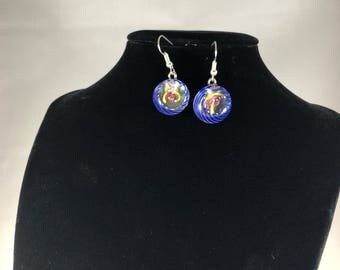 Fused Glass Earings
