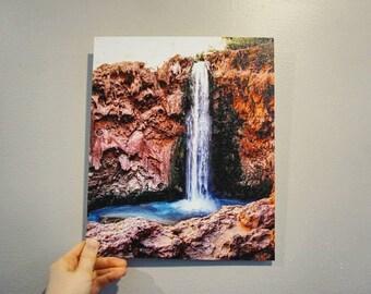 Canvas print of Havasu Falls 10x12