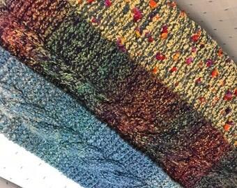 3 Knit Scarves